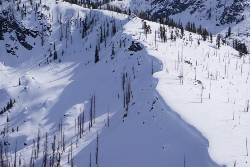 Extremely large overhanging cornices.